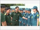 平阳省建设一支强大而广泛的民兵自卫队力量