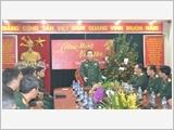 Thủ trưởng Tổng cục Chính trị thăm và chúc Tết Tạp chí Quốc phòng toàn dân