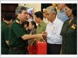 Bộ Quốc phòng gặp mặt đại biểu Người có công với cách mạng tỉnh Đồng Nai