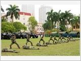 南定省武装力量建立全面强大的模范典型单位