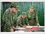 第一军团提高训练质量