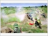 9号师着眼于提高综合素质与战斗力