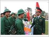 富寿省武装力量落实对军队和军队后方的政策