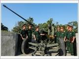 第四军团努力提高整体素质和战斗力