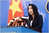 越南外交部发言人:要求中国停止侵犯行为并从越南专属经济区撤出全部船队