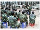 317号师努力建设强大的预备役部队