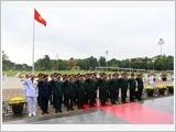 落实胡志明主席遗嘱 建设政治思想组织道德全面强大的军队党部