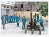 """丹凤县努力建设""""广泛而强大""""的民兵自卫队力量"""