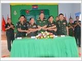 西宁省武装力量提高国防对外工作质量