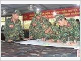 第四军区武装力量在执行当地国防和军事任务中发挥骨干作用