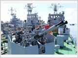 海军127号旅的训练工作
