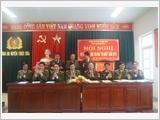 清化省肇山县武装力量加强协调配合执行国防安全任务