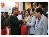 Bộ Quốc phòng gặp mặt Đoàn đại biểu Người có công với cách mạng tỉnh Vĩnh Long