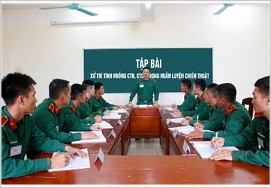 """落实好胡伯伯的训示,政治军校发动""""教好、学好""""竞赛运动"""