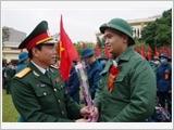 北江省武装力量在军事国防工作中发挥核心作用