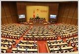 越南第十四届国会第九次会议隆重开幕