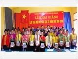 326号团参加发展社会经济及建立日益强大的地区