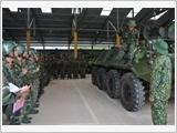 203号装甲坦克旅提高训练和战备质量的经验