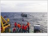 军队积极参加海上搜救工作
