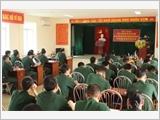 朔庄省武装力量推动实施中央政治局的五号指示
