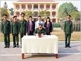 奠边省军事指挥部为强大的全民国防建设当好参谋