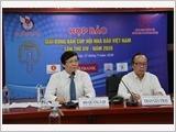 Họp báo Giải Bóng bàn Cúp Hội Nhà báo Việt Nam lần thứ XIV - năm 2020