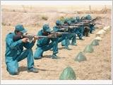 坚江省建立并提高海上民兵自卫力量的质量