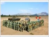 320号师提高综合质量和战斗力