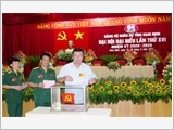 南定省武装力量在执行军事国防工作中发挥着核心作用