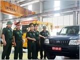 387号工厂以主动创新前驱精神为魂将科技应用于军车维修