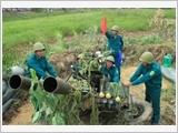 同塔省武装力量实施国防和军事工作