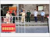 海阳省武装力量冲击在疫情防控第一线