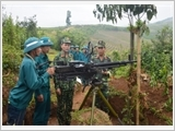 Quân khu 2 đẩy mạnh thực hiện Luật Dân quân tự vệ năm 2019