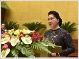 Phát biểu khai mạc kỳ họp thứ 10, Quốc hội khóa XIV của Chủ tịch Quốc hội Nguyễn Thị Kim Ngân