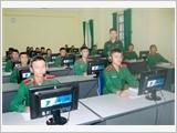 Đẩy mạnh công tác đào tạo, bồi dưỡng ngoại ngữ trong quân đội