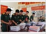 Thanh niên Quân đội xung kích thực hiện kỷ luật, kỷ cương