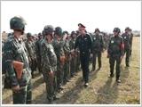 Lực lượng vũ trang Quân khu 1 tiếp tục nâng cao chất lượng huấn luyện