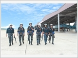 Sư đoàn 372 nâng cao chất lượng huấn luyện, bảo đảm an toàn bay