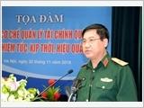 Nâng cao hiệu quả công tác tài chính Quân đội