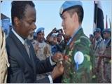 """Phát huy phẩm chất """"Bộ đội Cụ Hồ"""" trong tham gia hoạt động gìn giữ hòa bình Liên hợp quốc"""