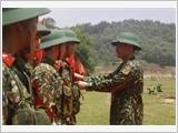 Trung đoàn 3 xây dựng đơn vị vững mạnh toàn diện