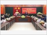 Vĩnh Phúc tập trung lãnh đạo xây dựng lực lượng vũ trang vững mạnh