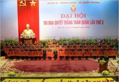 Thủ tướng Nguyễn Xuân Phúc dự Đại hội Thi đua Quyết thắng toàn quân lần thứ X
