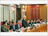 Bộ Chính trị làm việc với Ban Thường vụ Tỉnh ủy Kiên Giang