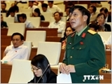 Law on Vietnam People's Army Officers put on table
