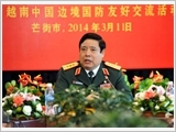 Vietnam-China's armies are vital forces to keep peace, says Defence Minister