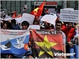 OVs around the globe protest China's illegal act