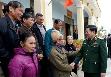Promoting the spirit of national resistance, building a strong all-people national defence in the new situation