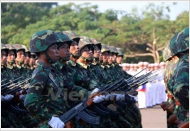 Lao People's Army - a credible force of the Lao State - a reliable friend of the Vietnam People's Army