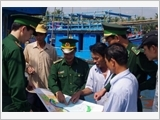 Border Guard of Binh Dinh province carries out the work of mass mobilization